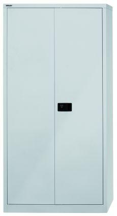 Light Flügeltürenschrank, 4 Fachböden, Trennwand