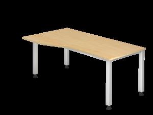Schreibtisch Breite 180cm mit Vertiefung