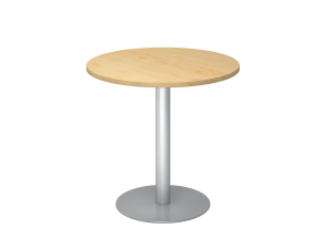 Sitz-/Stehtisch rund 80x80cm auf Gleiter