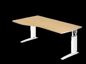 Schreibtisch Sprinter R/L B180 C-Fußgestell
