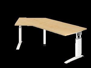 Schreibtisch Sprinter 135° C-Fußgestell