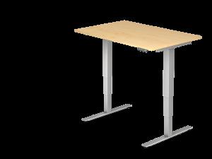 Schreibtisch T-Fuß elektrisch verstellbar B120