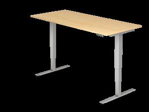 Schreibtisch T-Fuß elektrisch verstellbar B180