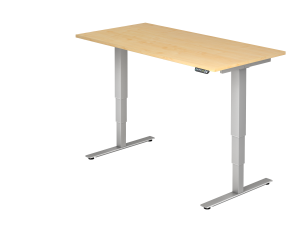 Schreibtisch T-Fuß elektrisch verstellbar B160