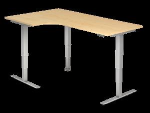 Schreibtisch T-Fuß elektrisch verstellbar B200 freeform rechts/links